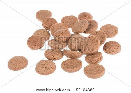 Ginger nuts typical Dutch candy for Sinterklaas event in december