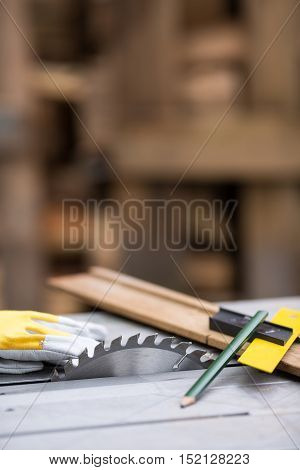 DIY or Do It Yourself series of concept photos about carpentry and woodworking with circular saw.