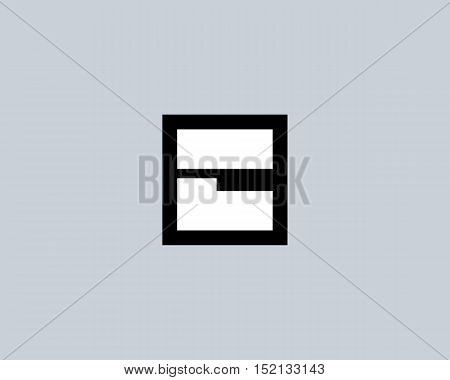 Abstract letter C shield logo design template