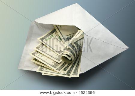 Dólares em Envelope