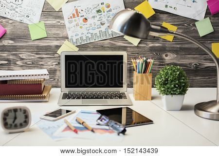 Creative Desktop With Devices
