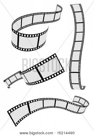 Filmstrip roll set