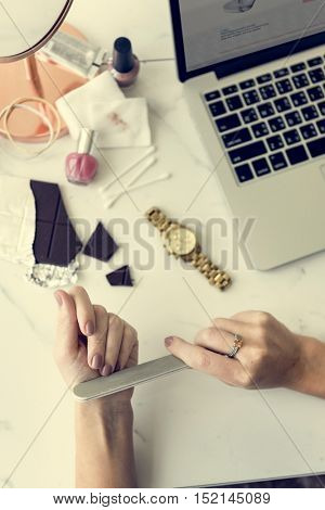 Female Women Vogue Vivid Fashion Trend Style Concept