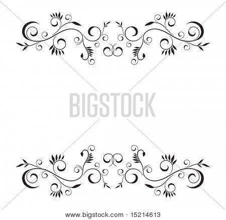 vector floral template