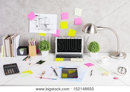 Modern Workspace Concept