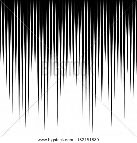 Straight Vertical Parallel Lines Abstract  Geometric Monochrome Pattern