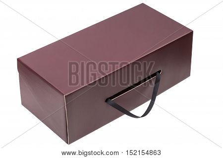 Gift box isolated on white background with clipping path