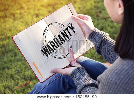 Business Warranty Assurance Guaranteed Concept