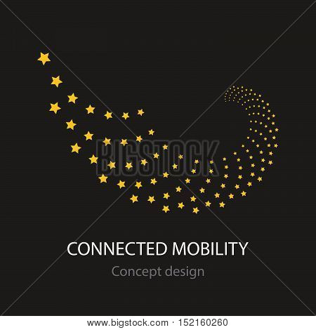 Connected Mobility Busines Icon