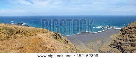 Cliffs And Beach