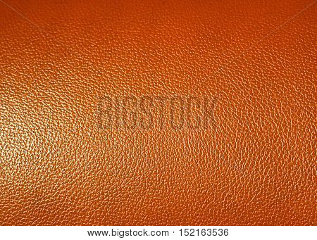 Surface of Brown leatherette texture as background