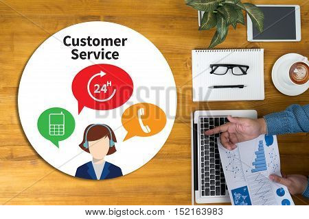 The Customer Service And Customer Service Call Center Agent Care (target Market Support Assistance)