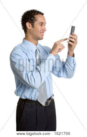 Calculator Businessman