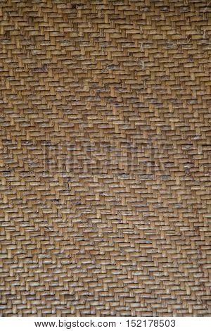 woven pattern of the chair for background