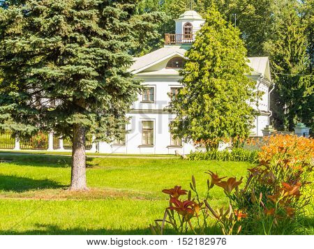 SEREDNIKOVO, RUSSIA - JULY 26, 2015: Serednikovo is the historical manor located near Moscow