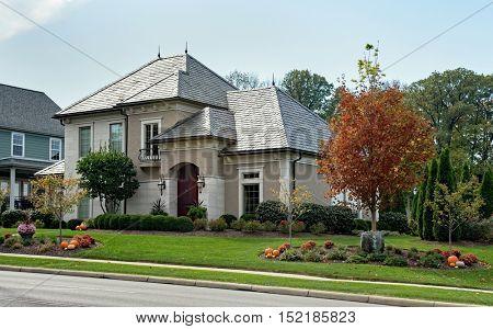 Beautiful Home in Fall