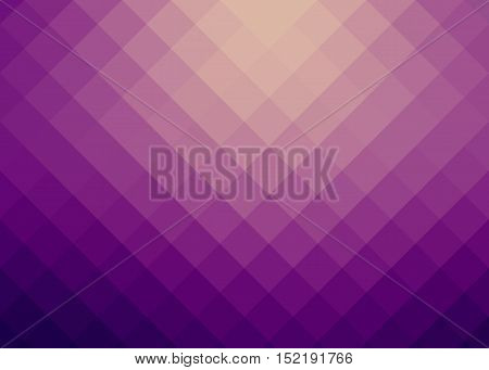 background of pink, lilac, violet squares with shadow and reflex