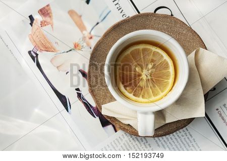 Tea Trends Chill Calm Fresh Ideas Relax Concept