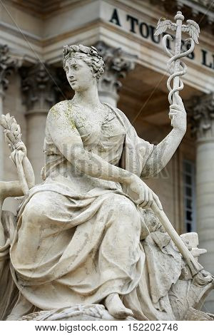 The Sculpture Versailles near Paris in France.