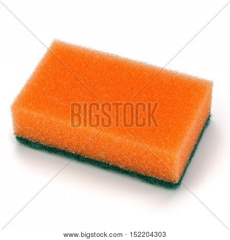 sponge isolated on white background cutout