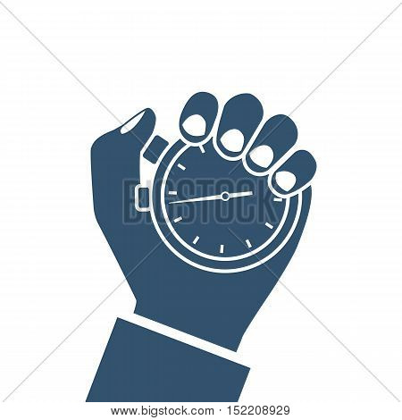 Stopwatch In Hand, Icon