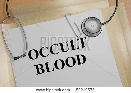 Occult Blood Concept