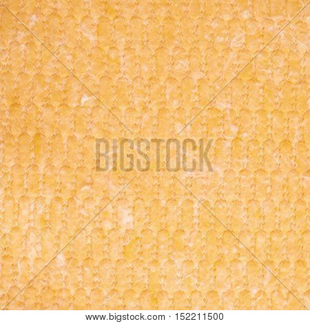 Yellow rag towel texture as background backdrop