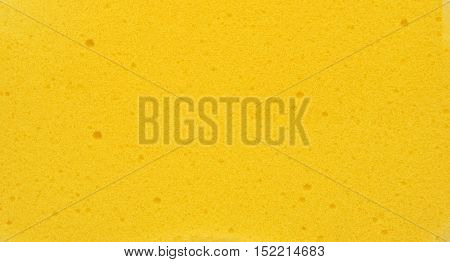 Sponge texture background yellow sponge for background