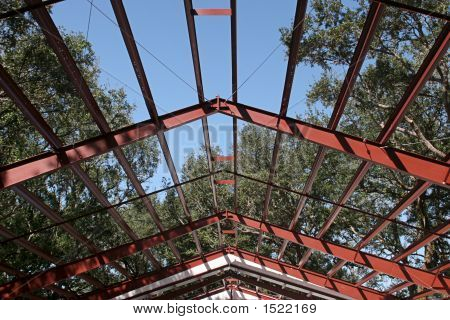 Steel Frame Roof Beams