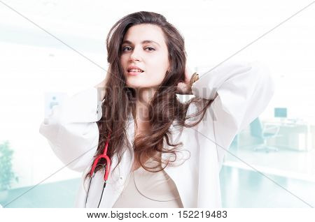 Attractive And Sexy Doctor