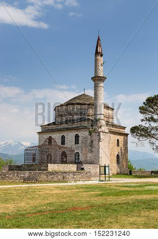 Fethiye Mosque with the Tomb of Ali Pasha in the foreground, Ioannina, Greece