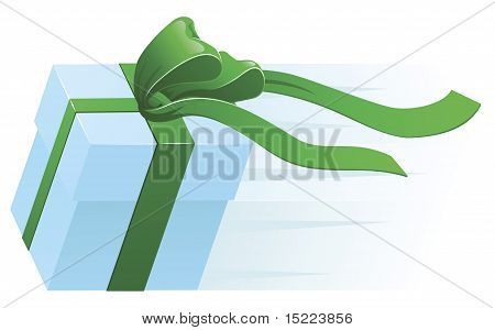 Fast Present Gift Concept