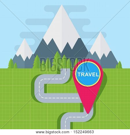 Travel Map Point