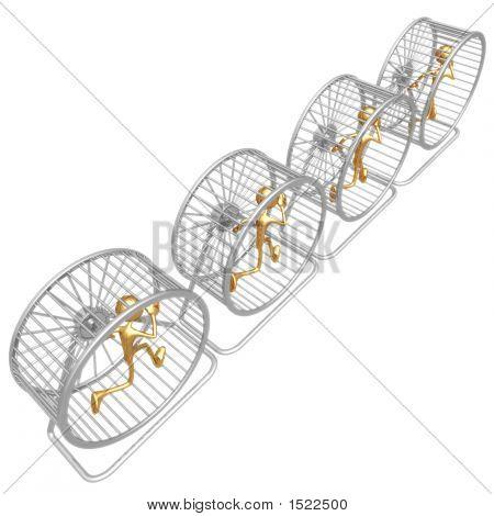 Hamster Wheel Runners