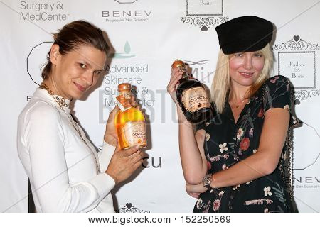 LOS ANGELES - OCT 15:  Remy Holwick, Eugenia Kuzmina at the BENEV Skincare Event at the Advanced Skincare MedCenter on October 15, 2016 in Los Angeles, CA