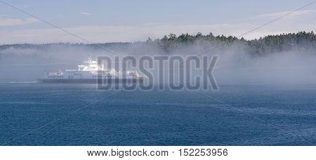 Victoria, Canada - August 29, 2016: Bc Ferries Victoria-vancouve
