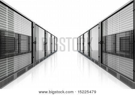 Sala do servidor.