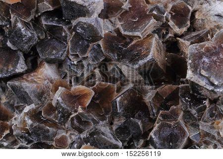 Gypsum Mineral Texture