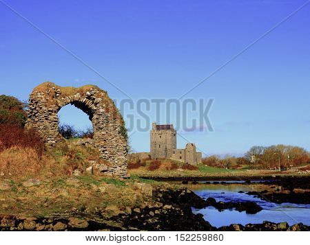 Dunguaire Castle in Kinvarra, Co. Galway Ireland