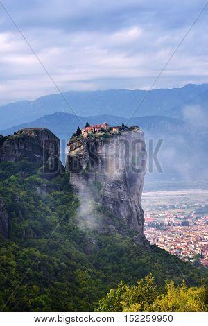 Monastery Holy Trinity, Meteora, Greece