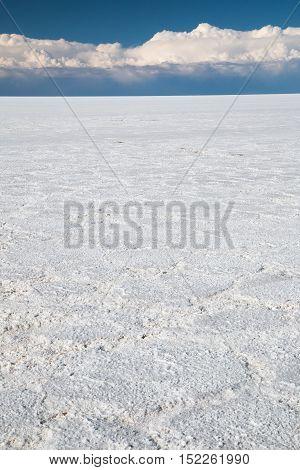 Salar de Uyuni salt desert in Bolivia