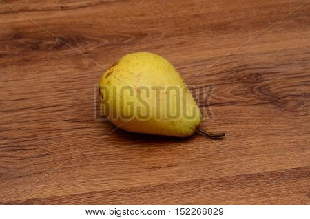 fresh pears on old wooden table studio, still, snack, object