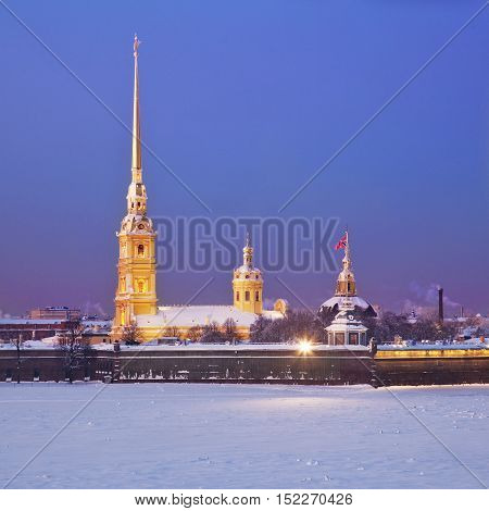 Peter and Paul Fortress. St. Petersburg. Russia