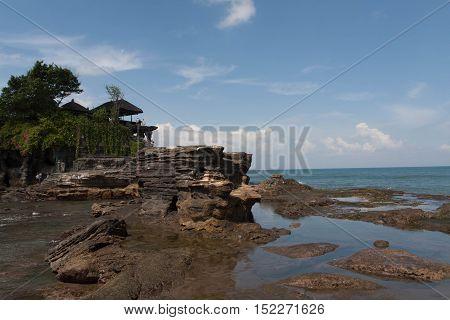 Temple of Pura Tanah Lot in Bali Indonesia