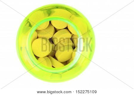 Medical Pills Isolated