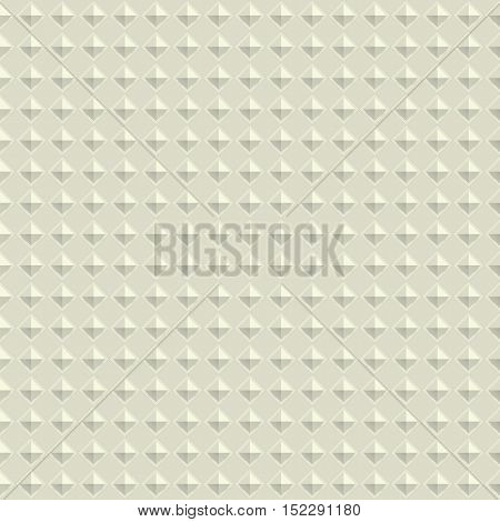 Texture diamond plate seamless. Metal or plastic material. Corrugated steel rhombic and lentil form sheets. Vector illustration