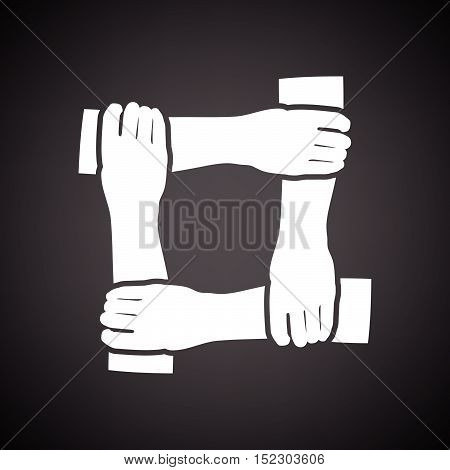 Crossed Hands Icon