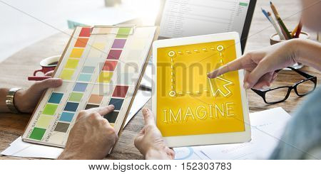 Art Create Draft Imagine Layout Outline Graphic Concept