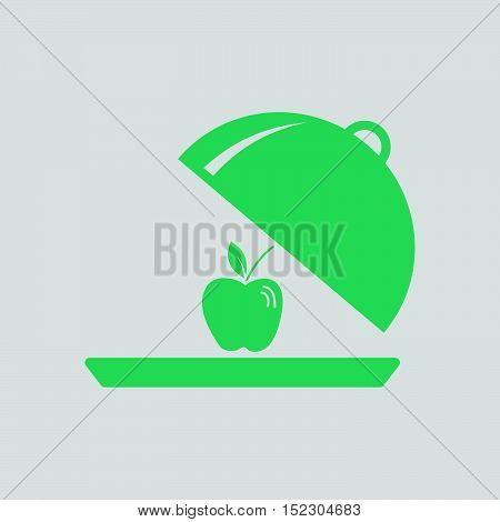 Apple Inside Cloche Icon