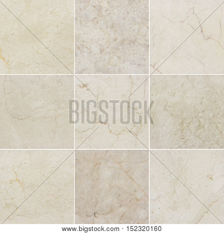 Beige marble backgrounds marble textures with natural pattern. Every image 4 MP 2000 x 2000.